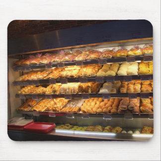 Sueño con los placeres de la panadería - por el cr tapete de ratón
