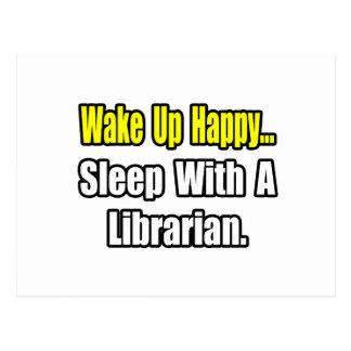 Sueño con un bibliotecario postales