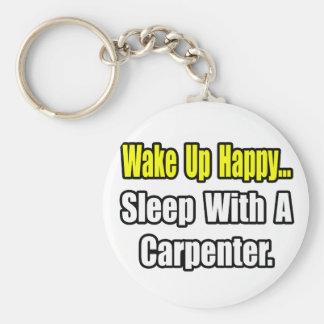 Sueño con un carpintero llavero redondo tipo pin