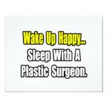 Sueño con un cirujano plástico invitación 10,8 x 13,9 cm