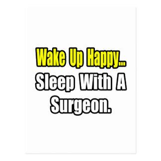 Sueño con un cirujano tarjeta postal