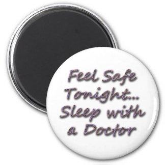 sueño con un doctor imán redondo 5 cm