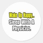 Sueño con un físico pegatina
