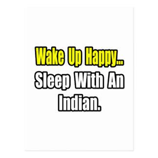 Sueño con un indio postales
