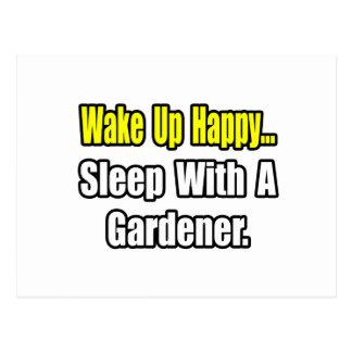 Sueño con un jardinero postales