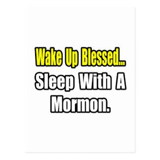 Sueño con un mormón tarjeta postal