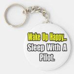 Sueño con un piloto llaveros