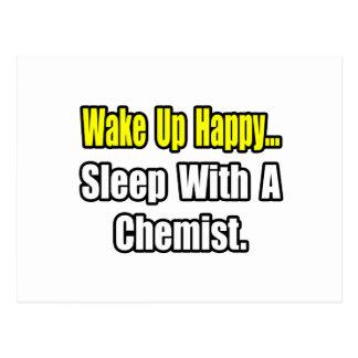 Sueño con un químico tarjeta postal