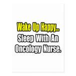 Sueño con una enfermera de la oncología tarjetas postales