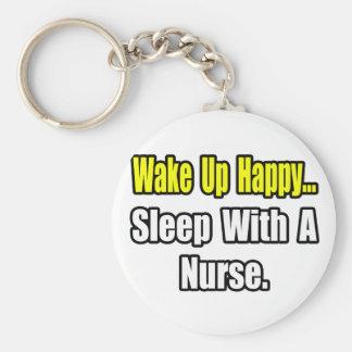 Sueño con una enfermera llavero redondo tipo pin
