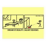 Sueño contra la realidad - estudios del sueldo postal