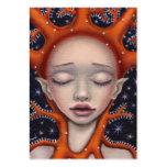 Sueño coralino plantillas de tarjetas de visita