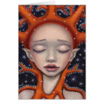Sueño coralino tarjeta de felicitación