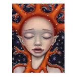 Sueño coralino tarjeta postal