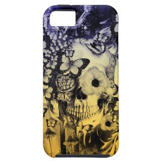 Sueño, cráneo en el ejemplo del bosque funda para iPhone 5 tough