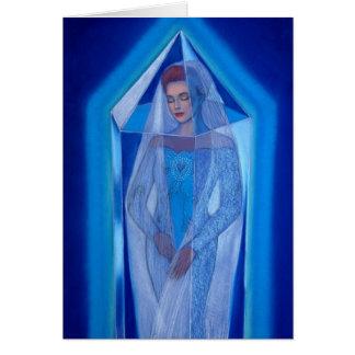 Sueño cristalino tarjeta de felicitación