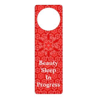 Sueño de belleza rojo del cordón del vintage colgadores para puertas