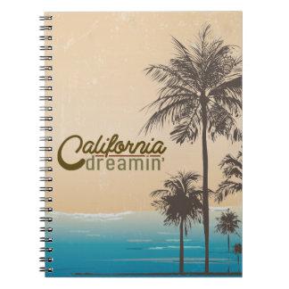 Sueño de California Libro De Apuntes