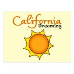 Sueño de California Postales