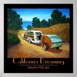 Sueño de California Poster