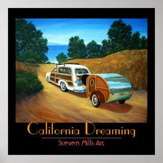 Sueño de California Póster