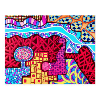Sueño de diseños tarjeta postal