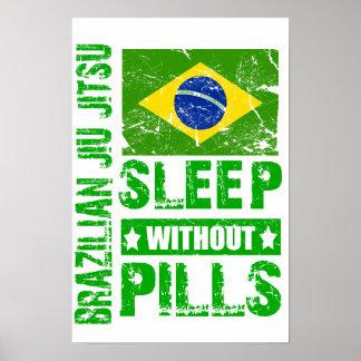Sueño de Jiu Jitsu del brasilen@o sin el poster de