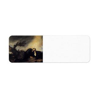 Sueño de Jusepe de Ribera- Jacob Etiquetas De Remite