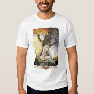 Sueño de la camiseta orgánica de Gaia Poleras