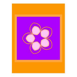 Sueño de la flor del animado de Lotus Postales
