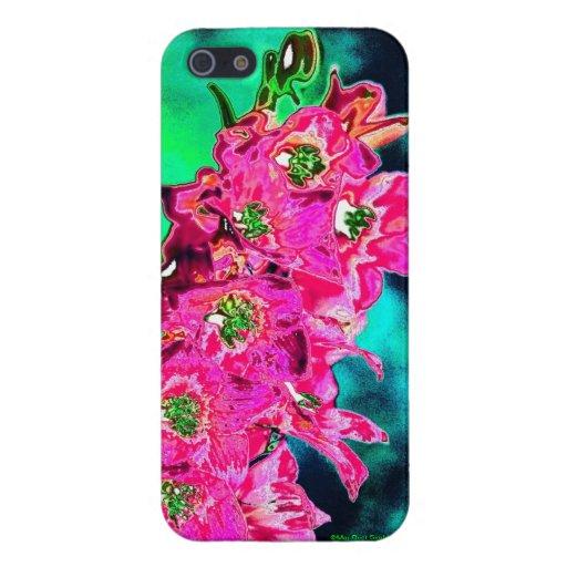 Sueño de la flor iPhone 5 carcasas