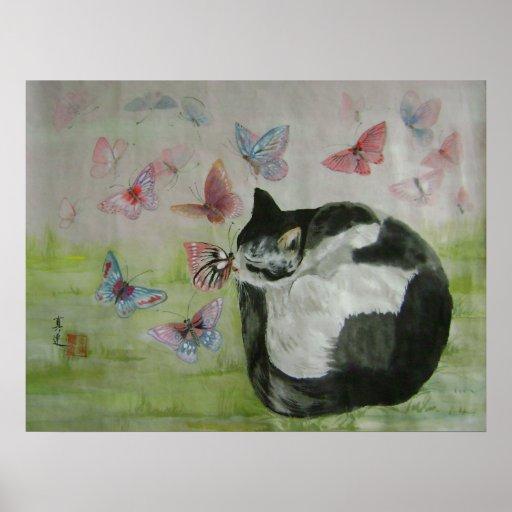 sueño de la mariposa impresiones