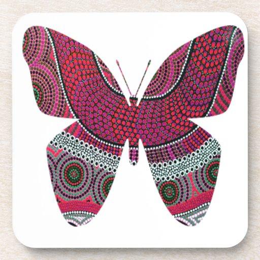 Sueño de la mariposa posavaso