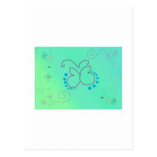 Sueño de la mariposa postales