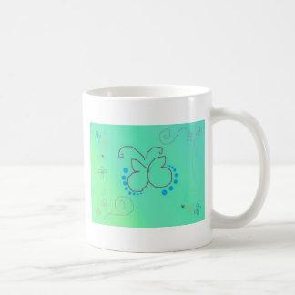 Sueño de la mariposa taza