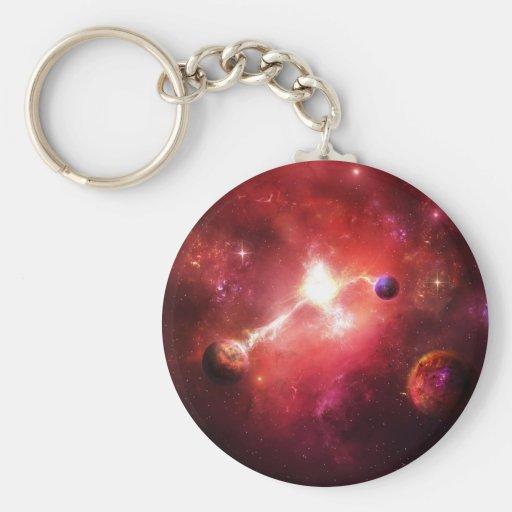 Sueño de la nebulosa llaveros personalizados