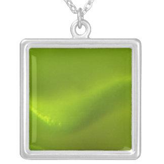 Sueño de la onda verde colgante cuadrado