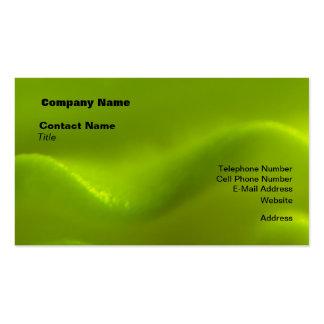 Sueño de la onda verde plantillas de tarjetas personales