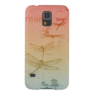 Sueño de libélulas carcasa galaxy s5