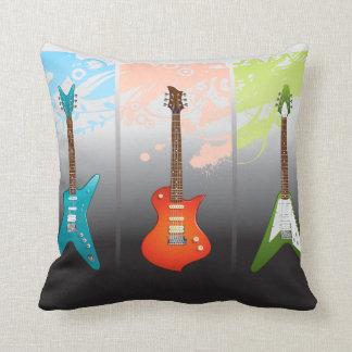 Sueño de los amantes de la guitarra eléctrica cojin