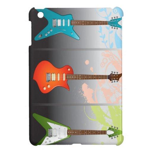 Sueño de los amantes de la guitarra eléctrica iPad mini protectores