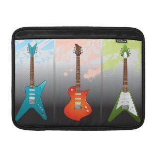Sueño de los amantes de la guitarra eléctrica funda  MacBook