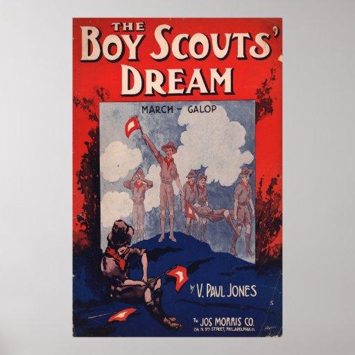 Sueño de los boy scout poster