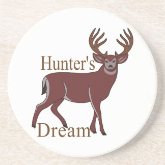Sueño de los cazadores posavasos manualidades