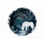 Sueño de los unicornios del río tarjetas postales