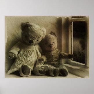 Sueño de osos de peluche impresiones