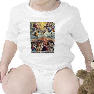 Sueño de Philip Ii por el EL de Greco Trajes De Bebé