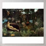 Sueño de Rousseau Posters