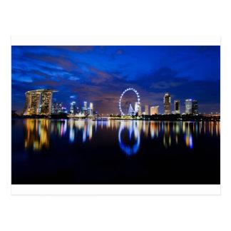 Sueño de Singapur Tarjeta Postal