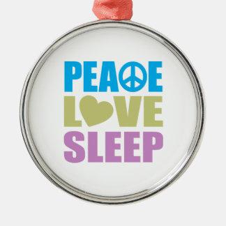 Sueño del amor de la paz adorno de reyes